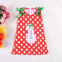2017  NEW Baby Girls Christmas Princess Dress Girls Fancy Clothing Dress - $8.99