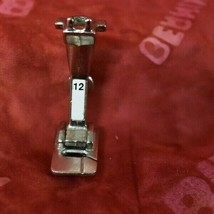 Genuine Bernina Tricot, Bulky Overlock Foot #12 - Old Style- EXCELLENT! - $29.00