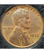 1936 Lincoln Wheat Penny EF #197 - $1.19