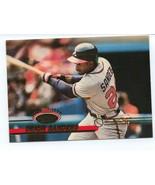 1993 Topps Stadium Club Deion Sanders Baseball Card (NM) - $2.50