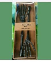 Skeleton Peltrina Skeleton 2 piece Serving Set black  - $42.95
