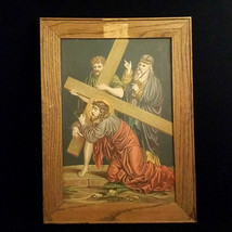 Fifth Station of the Cross; Simon of Cyrene Helps Jesus Carry His Cross - $87.12
