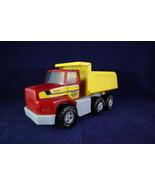 Vintage Nylint 1989 Red  Yellow  Plastic & Pressed Steel Dump Truck - $12.00