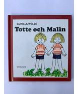 Set of 3 book Totte och Malin, Totte Arliten, Totte Klar ut Sig (Swedish) - $24.30