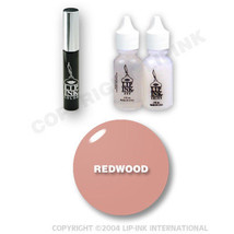 LIP INK Organic  Smearproof Special Edition Lip Kit - Redwood - $49.90