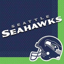 Seattle Seahawks NFL Pro Football Sports Banquet Party Paper Luncheon Napkins - $7.17
