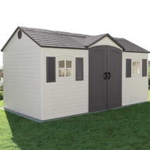 Outdoor Patio Heavy Duty Storage Barns Shed w/Shutters Windows &Skylight... - $2,699.99