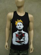 Conor Notorious McGregor King  Black  - Tank Top  - Irish Pride Tee MMA - $17.99+