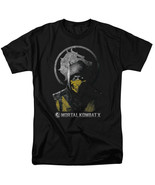 Mortal Kombat X Scorpion Bust T Shirt Licensed Comic Book Video Game Tee... - $17.99+