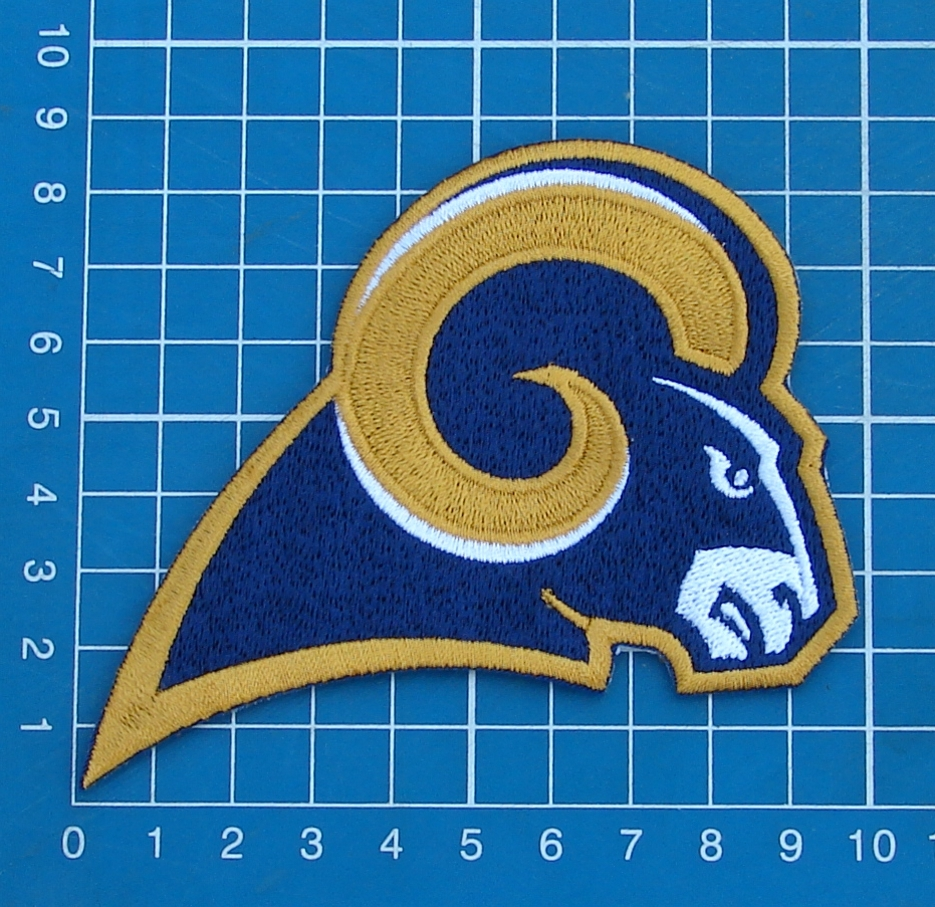 Primary image for ST. LOUIS RAMS FOOTBALL NFL SUPERBOWL LOGO PATCH JERSEY SEW EMBROIDERED
