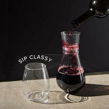 Plastic Wine Cups 12 Set Stemless Recyclable Champagne Glasses Wedding P... - $15.91