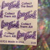 Lisa Frank Vintage Partial Sticker Sheet Patchwork Painter  Heart Pandas S109 image 3