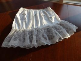 Half Slips, Mini Slips, Skirt Extenders, Slips, White Underslips, Nylon ... - $19.88