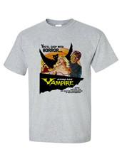 Atom Age Vampire T Shirt vintage B Movie retro horror sci fi film Hammer studios image 2