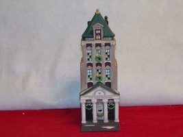 "DEPT 56 -CHRISTMAS IN THE CITY-""BROKERAGE HOUSE""-new in box - $32.34"