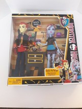 MONSTER HIGH * DOUBLE THE RECIPE * ABBEY BOMINABLE & HEATH BURNS, 2012 - $27.48
