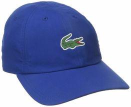New Lacoste Men's Premium Classic Croc Logo Sport Polyester Adjustable Hat Cap image 14