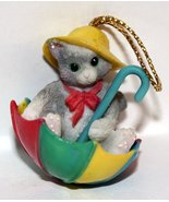 Calico Kittens 1997 Spring Is In The Air Ornament 297402 - $6.93