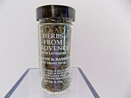 Morton & Bassett HERBS from PROVENCE w LAVENDER .7 oz Jar Best by 12-202... - $13.30