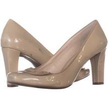 Franco Sarto uri Square Toe Slip On Heels, Taupe 713, Taupe, 8 US - $28.79