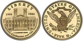 2006 Modern Commemorative San Francisco Old Mint Commemorative Coin Proo... - $593.99