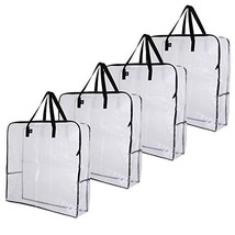 VENO Over-Sized Clear Storage Bag W/Strong Handles and Zippers for Colle... - $39.34