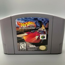 Hot Wheels Turbo Racing Nintendo 64 Authentic N64 Original Video Game, C... - $14.84