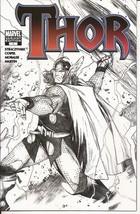 SDCC 2007 Marvel Thor #1 Exclusive Sketch Variant Cover  - $19.95