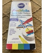 Wilton Edible FoodWriter Bold Tip Color Marker - $11.69