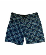 Patagonia Mens Blue Geometric Board Swim Shorts Trunk Size 36 - $24.70