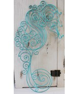 Young's Seahorse Teal Metal Wall Decor, 18.5-Inch - $25.99