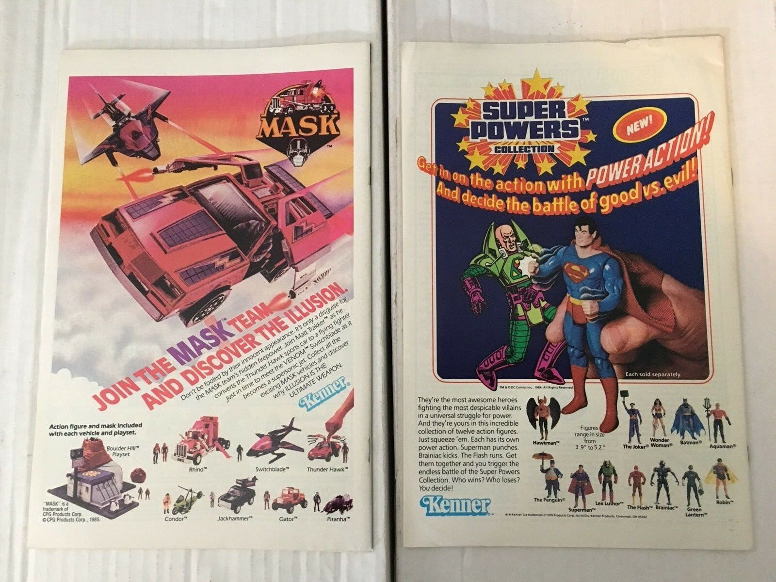 Justice League Of America 244 & 245  DC Book Lot Of 2 1985 CRISIS CROSSOVER