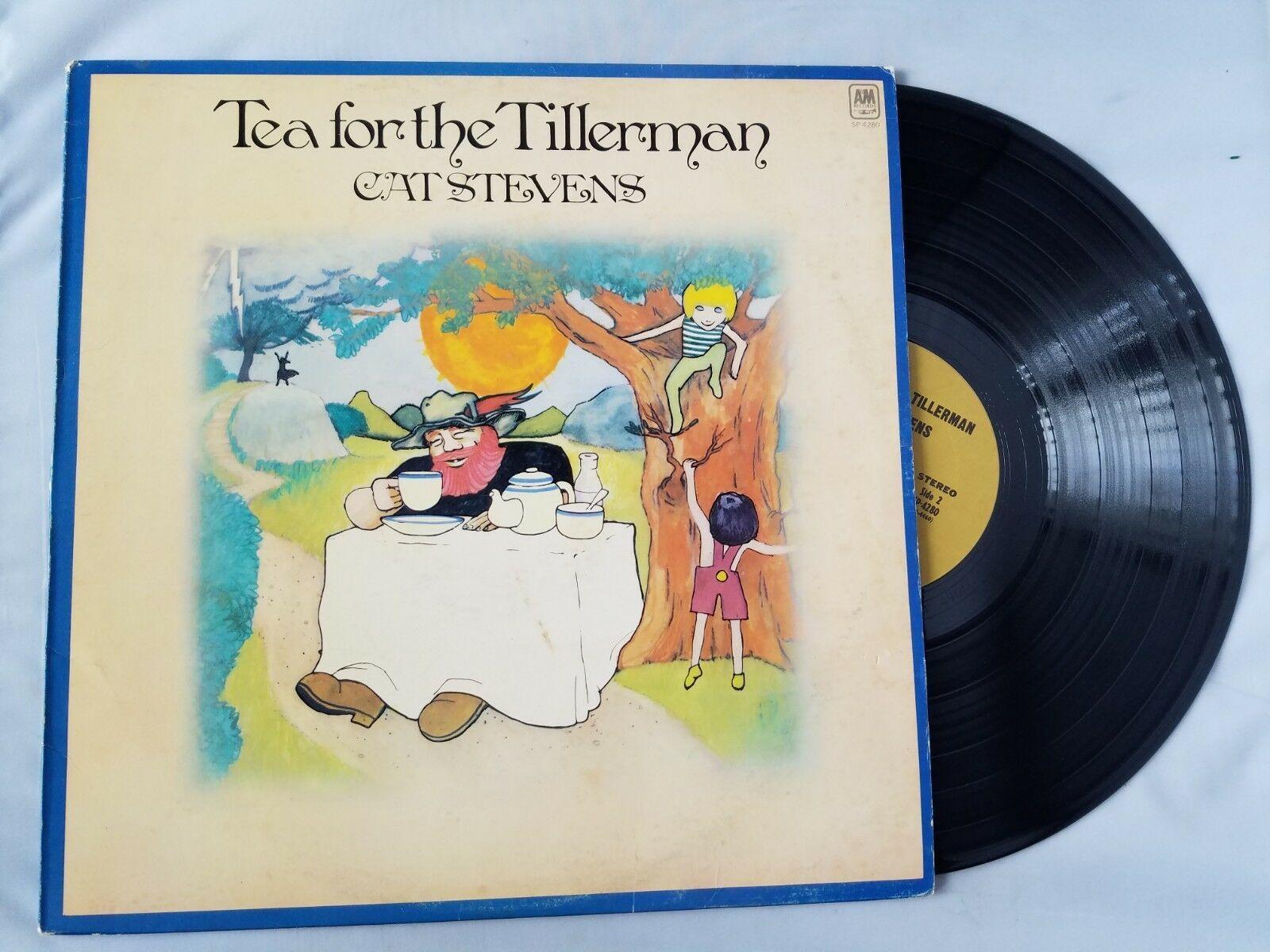 Cat Stevens Tea For The Tillerman Vinyl Record Vintage 1970 Freshwater Music A&M