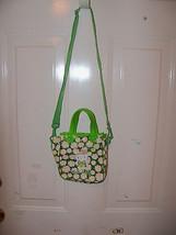 Hello Kitty Green Flower Purse EUC - $14.40