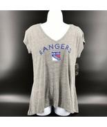 NHL New York Rangers Women's Shirt Soft Tri-blend Size S/CH/P - NEW W/Ta... - $24.99