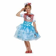 Hello Kitty Sailor Deluxe Tutu Costume, Medium 7-8 - £20.46 GBP