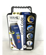 WAHL Color Code 17 Piece Complete Haircutting Kit Hair Clippers Home Hai... - $54.95