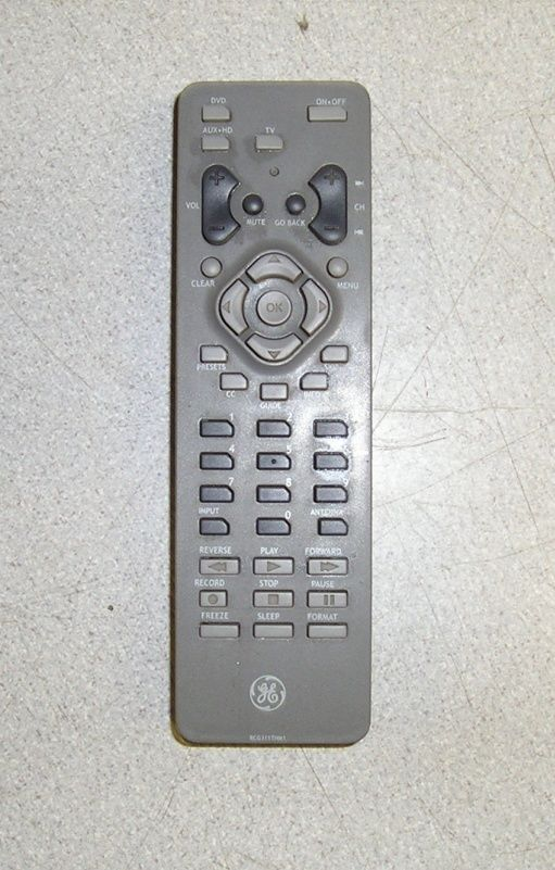 General Electric RCG311THM1 Remote Control - $20.00