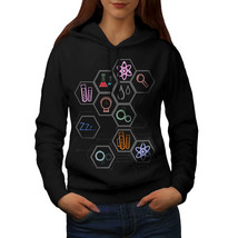 Science Love Print Sweatshirt Hoody Geek Madness Women Hoodie - $21.99+