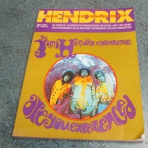 JIMI HENDRIX ARE YOU EXPERIENCED Music Song Book Guitar/Bass/Drum TRANSC... - $12.77
