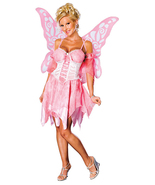 Secret Wishes Women's Pink Sugar Plum Fairy Adult Costume w/Wings - $42.99