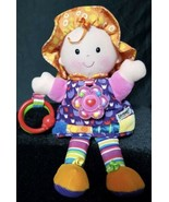 Lamaze My Friend Emily Soft Activity Doll Rattle Crinkle Teether Clip On... - $7.43