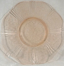 "Macbeth Evans AMERICAN SWEETHEART PINK Glass 11 3/4"" ROUND SALVER PLATE ... - $35.99"
