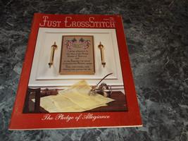 Just Cross Stitch Magazine July/August 1987 - $0.99