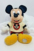 Disney Mickey Mouse Club  Millennium Bean Bag Beanie Mickey Mouse Charac... - $8.80
