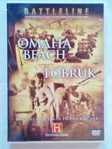 History Channel Battleline - Omaha Beach / Tobruk DVD NEW [REGION 0 EUROPE] - $7.99