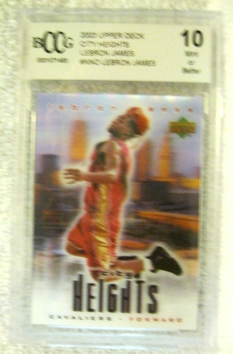 Lebron James RC 2004 Fleer USA Rookie Card GEM BGS 9.5! Cavaliers RC image 6