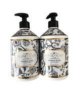 La Tasse AMBER ROSE Hand Soap, by Home and Body Co 21.5 fl oz New Fast Ship - $39.10