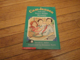 BOOK David A. Adler 'Cam Jansen and the Scary Snake Mystery' Scholastic PB 1999 - $1.99
