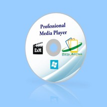Pro Media Player - Play Any Video 3D DVD Music Audio Extract Convert Dow... - $11.46